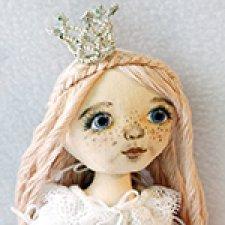 Моя Принцесса. Текстильная кукла