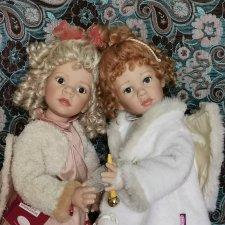 Два ангела от Elisabeth Lindner