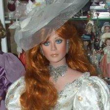 Наше новое фарфоровое великолепие - пополнение коллекции: куклы Rustie  и Größle-Schmidt