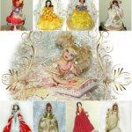 Сказочные и литературные образы фарфоровых куколок (ООАК) - коллекция 1