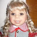 Моя девочка. Коллекционная кукла от Регины Свиалковски