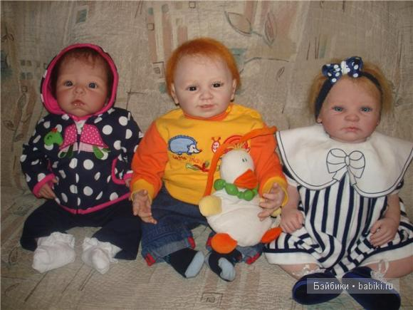 Куклы реборн наша семья