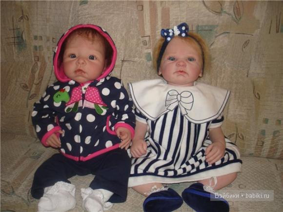 Куклы реборн сестрички