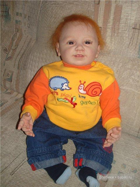 Кукла реборн Давид