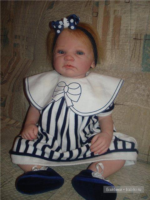 Кукла реборн Маргаритка