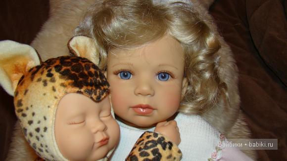 Коллекционная кукла от Дорис Штаннат