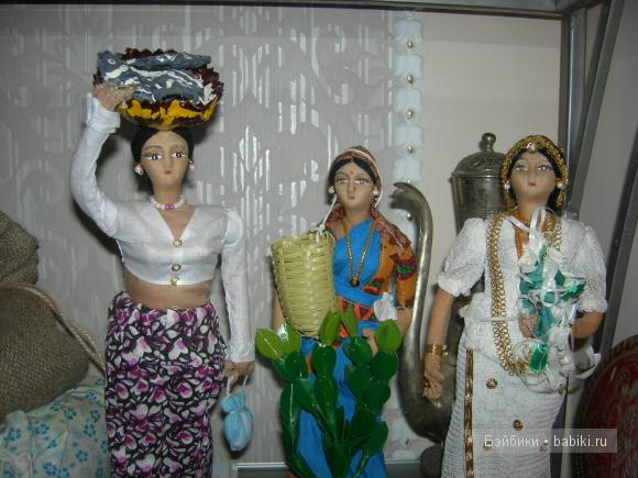 куклы со Шри-Ланки
