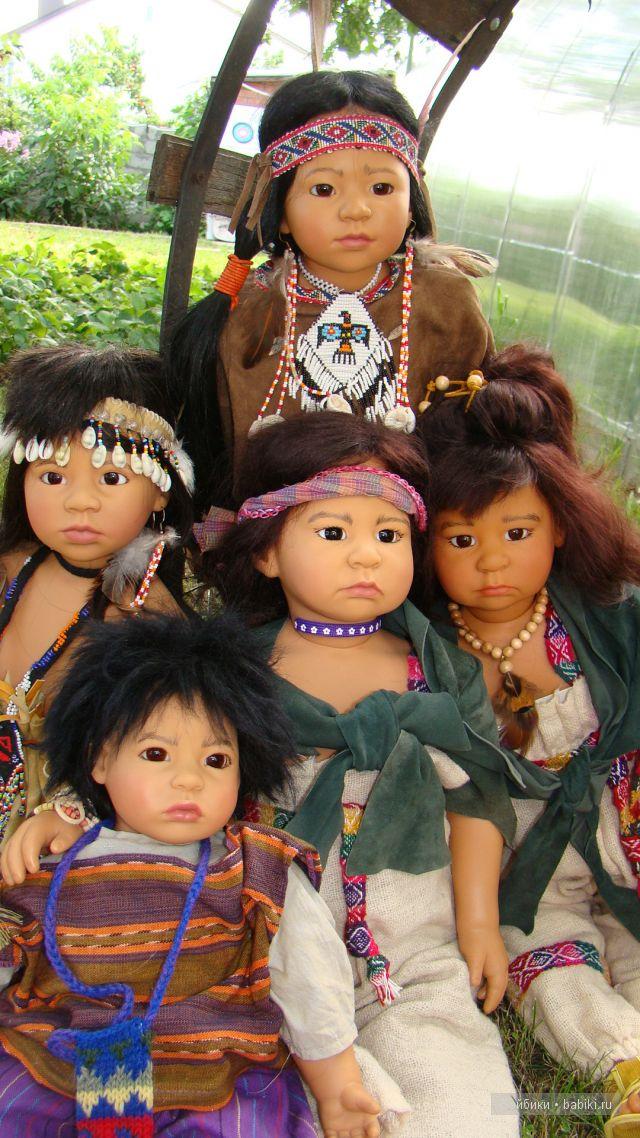 куклы от карин шмидт