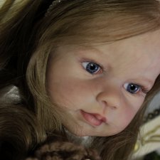 Маленькая барышня Луиза. Куклы реборн Елены Ядриной