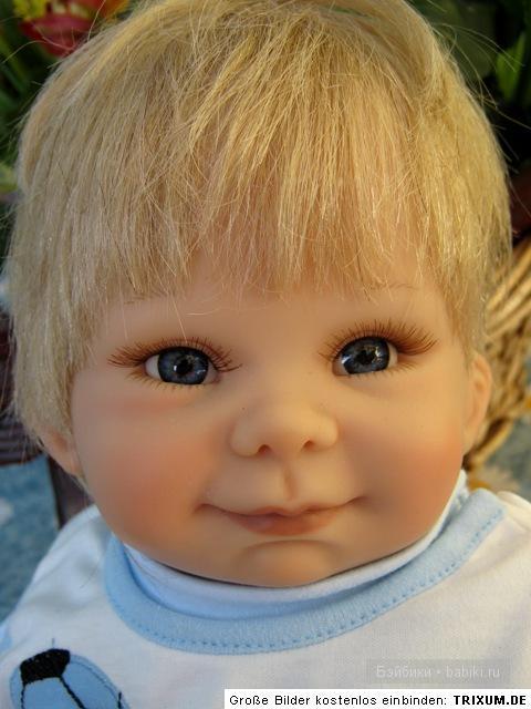 Мой пасхальный мальчик! Коллекционная кукла Ludwig от  Gaby Rademann