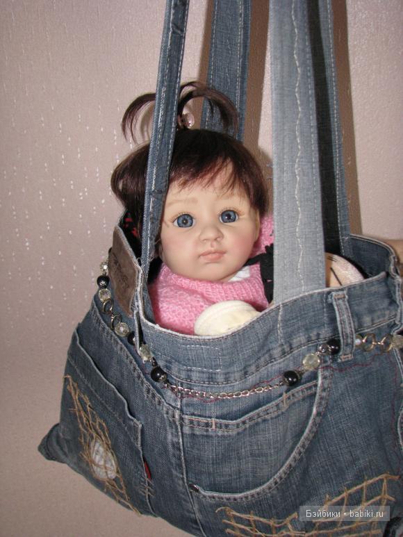 сумка своими руками из джинсов