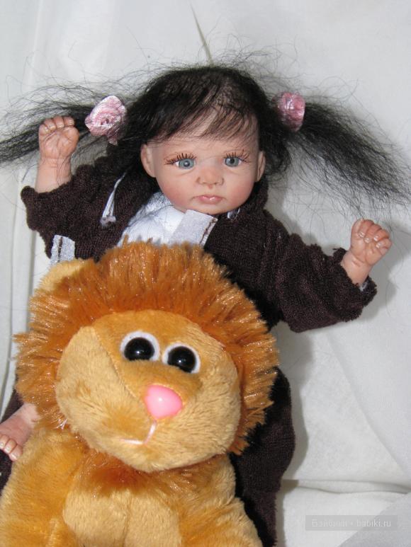 Мини кукла реборн Мишка
