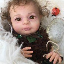 Лесной Эльфёныш,кукла-реборн Элины Кудрявцевой