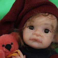 Малышок, кукла реборн Элины Кудрявцевой