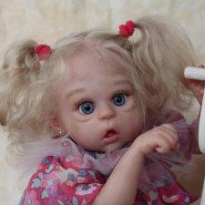 Анюточка кукла-реборн Элины Кудрявцевой