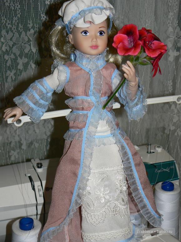 Принцесса с цветком