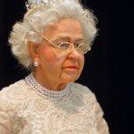 Портретная кукла Тимкаевой Елены - Королева Англии Елизавета 2