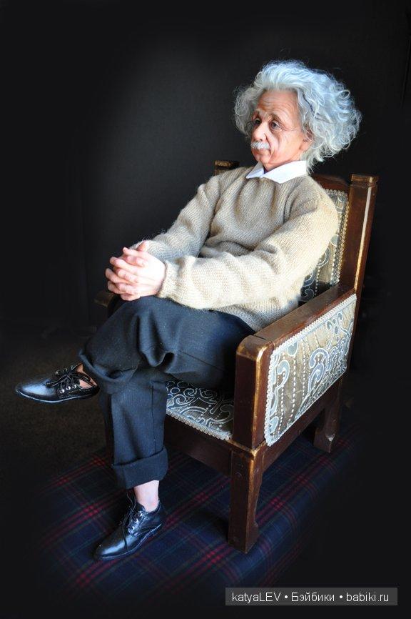 """кукла """"Альберт Эйнштейн"""""""