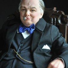 Портретная кукла - Уинстон Черчилль, автор Тимкаева Елена