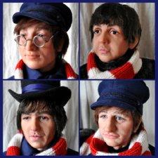 Портретные куклы - Битлз