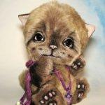 Продам авторского котика Миролюбчика  от Натальи Шумейко 9000