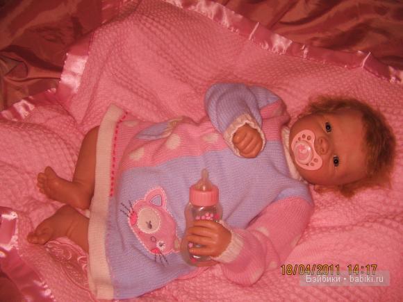 Моя малышка, кукла реборн Хлоя!