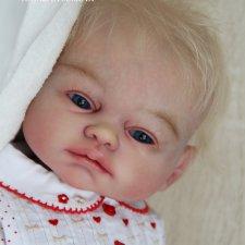 Сильвия - мой прототип Ava от скульптора Sheila Michael. Кукла реборн Наталии Сомовой