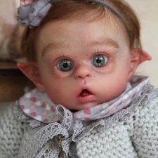 Крошка Энни. Кукла реборн Наталии Сомовой