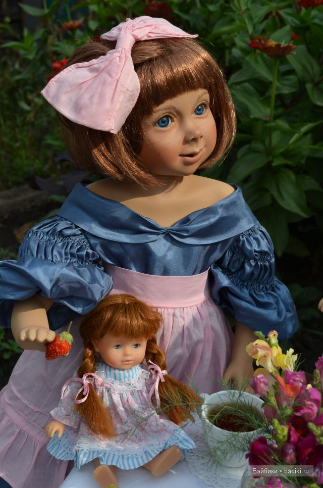 Hexchen - фарфоровая кукла от Größle-Schmidt