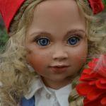 """""""Красная шапочка"""" - милый образ из детства. Hexchen - фарфоровая кукла от Größle-Schmidt"""