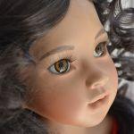 Прекрасные цветы моего букета. Часть 7 - Гибискус. Фарфоровая кукла от Groble-Schmidt