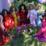 """Прекрасные цветы моего букета. Часть 8 - ВСЕ ВМЕСТЕ и новенькая """"Фуксия"""". Кукла от Groble-Schmidt"""