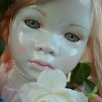 Лунные девочки или необычное творение Ширли (Shirley) - глазурованная кукла Мариэль (Mariele)