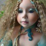 Русалки - миф или... Знакомство с куклой Sira die Meerjungfrau (морская нимфа) от Shirley