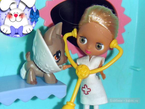 Кукла Блайз и Littlest Pet Shop hasbro