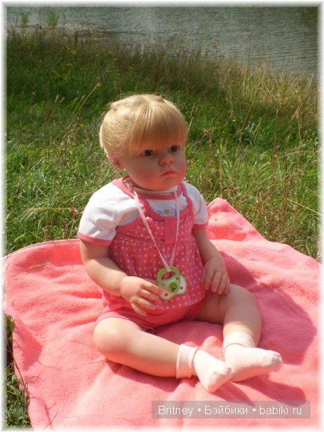 Розалия кукла реборн Ирины Свитиной