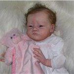 Малышка-реборн от Natalie Scholl молд Will