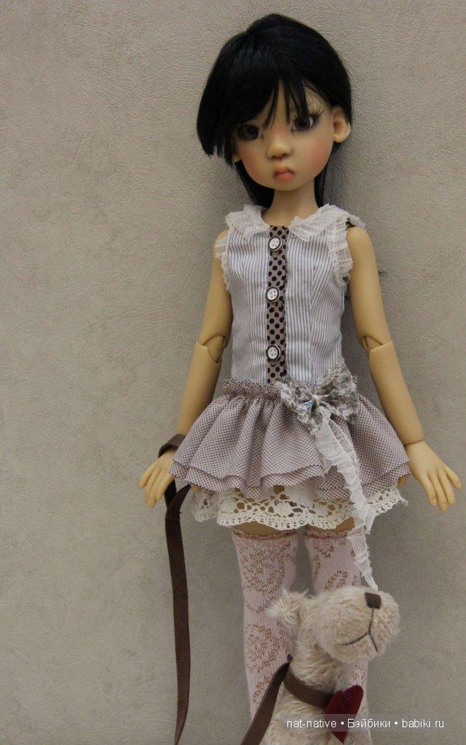 Платье для Мики. Одежда бжд своими руками