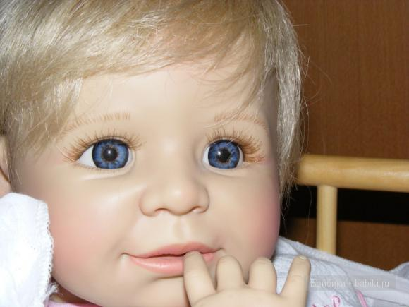 Коллекционная кукла Денисе от Моники Гердес