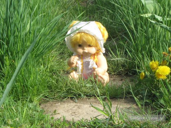 Как Ириша отдыхала на даче (игровая кукла для девочек)