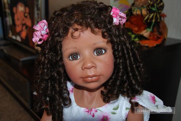 Красивая Габриэлла. Коллекционная кукла от Моники Левениг, Masterpiece