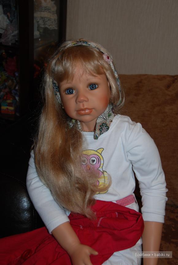 Взрослая девочка Линдси, кукла Моники Левенинг