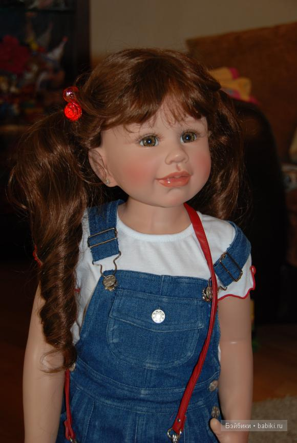 Девочки Мадита и Керол. Коллекционные куклы Моники Левениг