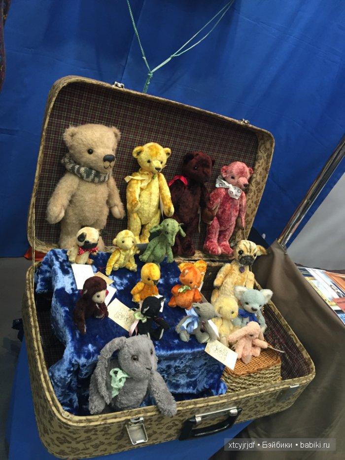 10-я юбилейная выставка! Куклы и мишки на Тишинке. 1 - 3 апреля 2016
