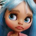 Кукла блайз (Blythe) кастом. Имя Голубая Лагуна. OOAK.