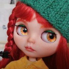 Кукла блайз (Blythe)  кастом. OOAK. Аленка. Скидка! Было 8600
