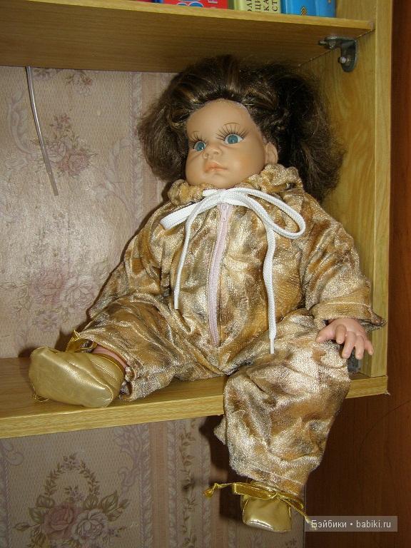 вот так смотрится на кукле, цена 300 руб.