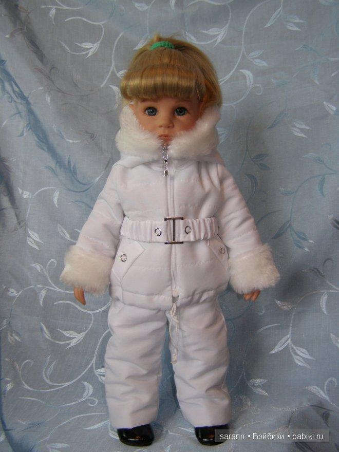 Белый зимний комплект для Готц