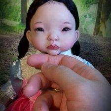 Моя корейская девочка. Авторская кукла Кондрашовой Ирины