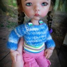 Определенно девочка. Авторская кукла Кондрашовой Ирины
